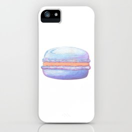 Macaron Watercolor iPhone Case
