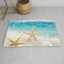 seashell and sea Rug