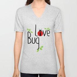 Love Bug Unisex V-Neck