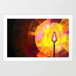 Arrow of Fire Art Print