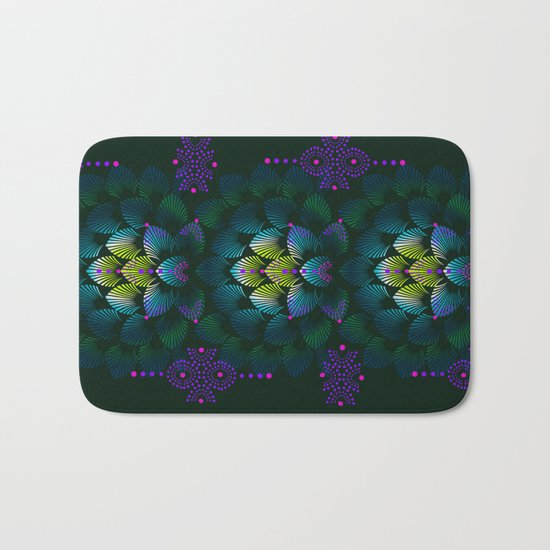 Variations on A Feather IV - Stars Aligned (Primeval Edition) Bath Mat
