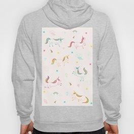 Cute unicorn pattern Hoody