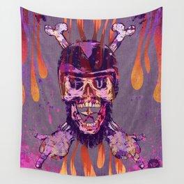 Moto Head Wall Tapestry