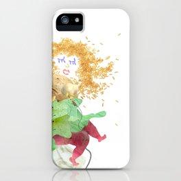 Food Festival Singer iPhone Case