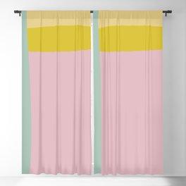 Organic Spring Pastels Blackout Curtain