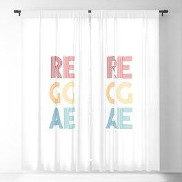 Reggae  TShirt Music Shirt Instrument Gift Idea Blackout Curtain