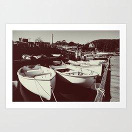 Rescue Boats Art Print