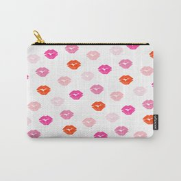 Kisses pattern Carry-All Pouch