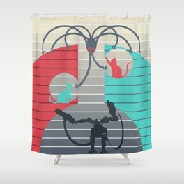 The battle for Zion Shower Curtain