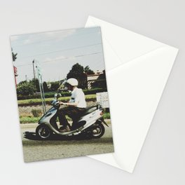 Scooting Along Stationery Cards