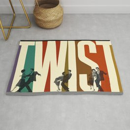 Let's Twist Again Rug
