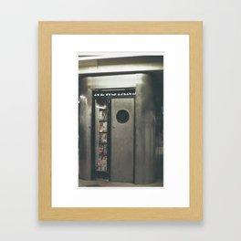 Amtrak a Framed Art Print
