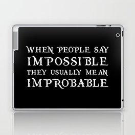 Improbable - Nikolai BLACK Laptop & iPad Skin