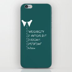 QUOTE-5 iPhone & iPod Skin