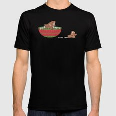 Gingerbread Jaws Mens Fitted Tee X-LARGE Black