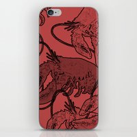 lobster iPhone & iPod Skins featuring lobster by Isabella Asratyan
