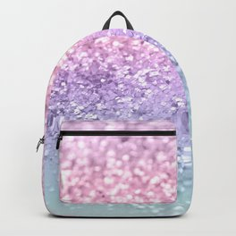 Unicorn Girls Glitter #1 #shiny #pastel #decor #art #society6 Backpack