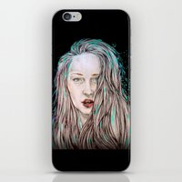 goddess iPhone & iPod Skins featuring Goddess  by Jenn