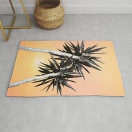Cali Summer Vibes Palm Trees #2 #tropical #decor #art #society6 Rug