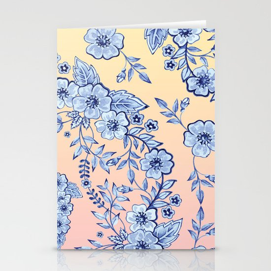 Blue Rhapsody Stationery Cards