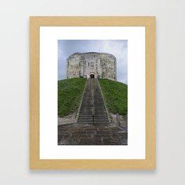 Clifford's tower Framed Art Print