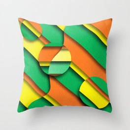 CIRLCES COME IN THREES Throw Pillow