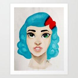 Valerie Front Facing Art Print