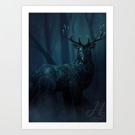 Ravenstag Art Print