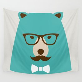 What the bear!... Wall Tapestry