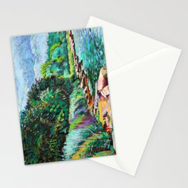 Hudson River Scene Stationery Cards
