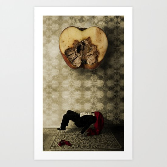 Glitch 4: Broken Hopes Art Print