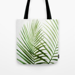 Fresh Palm Fronds Tote Bag