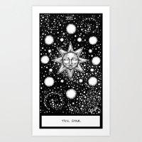 tarot Art Prints featuring Star Tarot by Corinne Elyse