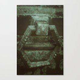 Door to eternity Canvas Print