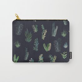 green garden at nigth Carry-All Pouch