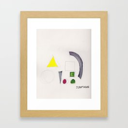 Shapes From Uncertainty and Poor Color Management 2 Framed Art Print