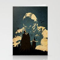 bane Stationery Cards featuring Bane  by Edmond Lim