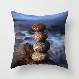 Maintain Balance Throw Pillow
