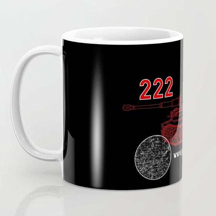 Michael Wittmann Panzer Ace 222 Villers Bocage Black Coffee Mug