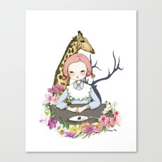Jenny Eat Breakfast Canvas Print