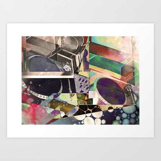 Psychedelic Music Art Print