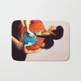Ranma and Akane Bath Mat