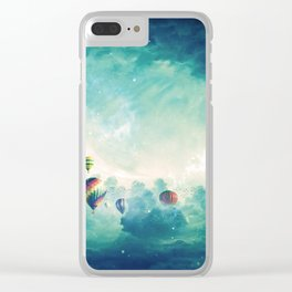 Hot air ballons Clear iPhone Case