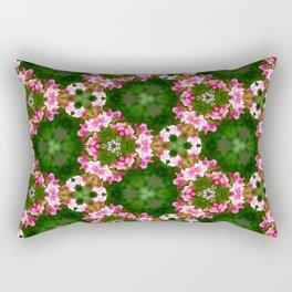 50 shades of pink Geranium (pattern117) Rectangular Pillow