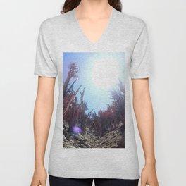 Ancient bristlecone pine forest Unisex V-Neck