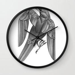 Corvus Corax Wall Clock