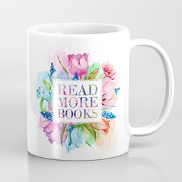 Read More Books Pastel Coffee Mug