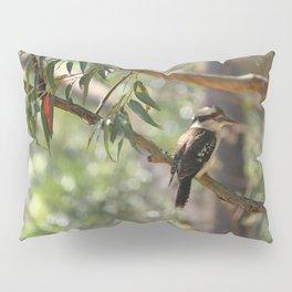 Kookaburra sitting in a gum tree Pillow Sham