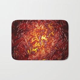 The Fire within..... Bath Mat