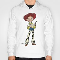 toy story Hoodies featuring Toy Story | Jessie by Brave Tiger Designs